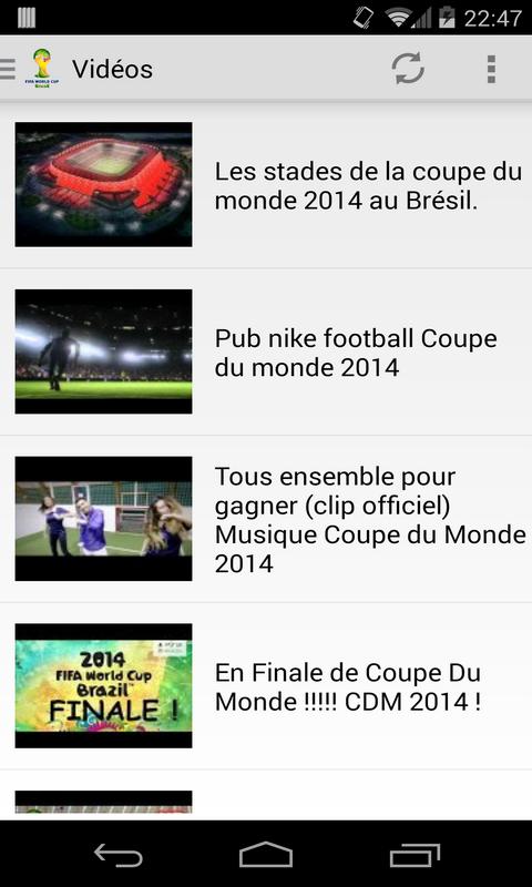 Android gratuit coupe du monde 2014 - Tableau final coupe du monde 2014 ...
